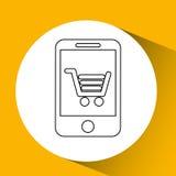 app τεχνολογίας σύνδεση weareable Στοκ Φωτογραφία
