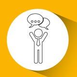 app τεχνολογίας σύνδεση weareable Στοκ εικόνα με δικαίωμα ελεύθερης χρήσης