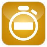 App χρονομέτρων εικονίδιο Στοκ Φωτογραφία