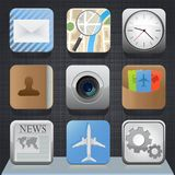 App buttons Royalty Free Stock Images