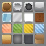 App buttons Royalty Free Stock Photos