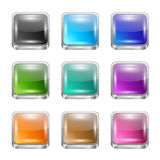 App buttons set Stock Image