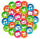 App cloud Royalty Free Stock Image