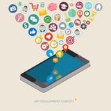 App development concept Royalty Free Stock Photo