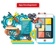 App Development Concept stock illustration