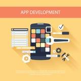 App development instruments concept Stock Image