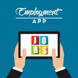 App dla pracy Zdjęcia Stock