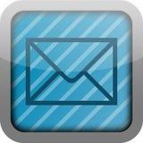 app emaila ikona Fotografia Stock