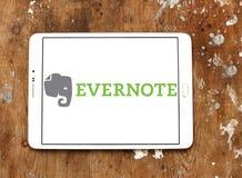 App Evernote λογότυπο Στοκ φωτογραφία με δικαίωμα ελεύθερης χρήσης