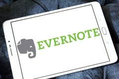 App Evernote λογότυπο Στοκ φωτογραφίες με δικαίωμα ελεύθερης χρήσης