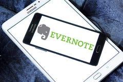 App Evernote λογότυπο Στοκ Φωτογραφία