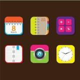 App fresco Foto de Stock Royalty Free