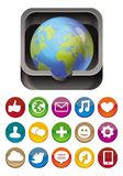 app icon Stock Photo