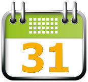 App Icon Calendar Royalty Free Stock Image