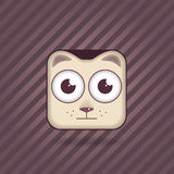 App icon cat Royalty Free Stock Photography