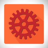 App icon cogwheel vector illustration Royalty Free Stock Photos