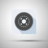 App icon cogwheel vector illustration Stock Images
