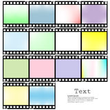 App icon film vector illustration. Film background abstract app icon vector illustration Royalty Free Stock Photos