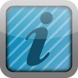 App icon info Royalty Free Stock Photos