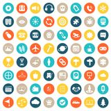 App icon set. Icons for websites and mobile applications. Flat vector. App icon set. Icons for websites and mobile applications. Business, management, finances Royalty Free Stock Photography