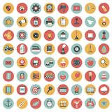 App icon set. Icons for websites and mobile applications. Flat. App icon set. Icons for websites and mobile applications. Business, management, finances Royalty Free Stock Images