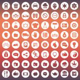 App icon set. Icons for websites and mobile applications. Flat. App icon set. Icons for websites and mobile applications. Business, management, finances Royalty Free Stock Photo
