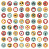 App icon set. Icons for websites and mobile applications. Flat. App icon set. Icons for websites and mobile applications. Business, management, finances Stock Photos
