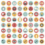 App icon set. Icons for websites and mobile applications. Flat. App icon set. Icons for websites and mobile applications. Business, management, finances Stock Photography