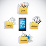 App icons Royalty Free Stock Images