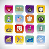 App icons Stock Images