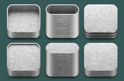 App icons for iphone and ipad applications. Royalty Free Stock Photography