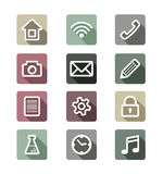 App icons Royalty Free Stock Image