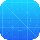 App ikony szablon Obrazy Stock