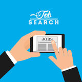 App for a job Royalty Free Stock Photo