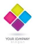 App logo design royalty free illustration