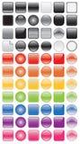 App- och symbolsbakgrunder Royaltyfri Bild