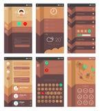 App ontwerp Stock Afbeelding