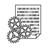 App Ontwikkelingspictogram vector illustratie