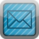 App pictogram e-mail Stock Fotografie