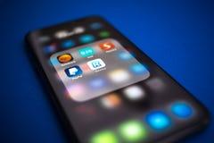 App Revolut λογότυπο Στοκ Εικόνα