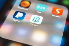 App Revolut λογότυπο Στοκ εικόνες με δικαίωμα ελεύθερης χρήσης