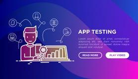 App som testar begrepp: man med bärbara datorn arkivfoto
