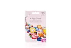 App Store Gift Card Stock Images