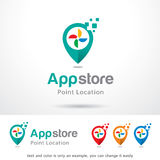 App Store Logo Template Design Vector illustration libre de droits