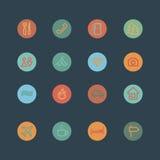 App-symboler Arkivbilder