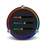 App-teknologi - (prövkopiaupplagan) Arkivbild