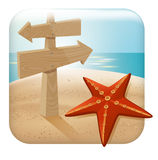 App Travel Icon Royalty Free Stock Image
