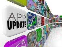 App Updates 3d Tiles Applications Programs Software Upgrade Patc Stock Images