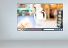 App video διεπαφή Στοκ εικόνα με δικαίωμα ελεύθερης χρήσης