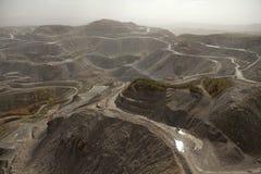 Appalachi della miniera di carbone Immagini Stock